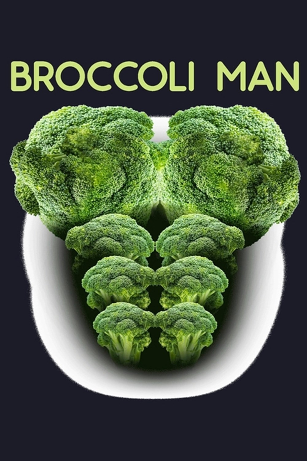 Broccoli Man Blank Cookbook Journal to Write in Recipes and Notes to Create Your Own Family Favorite