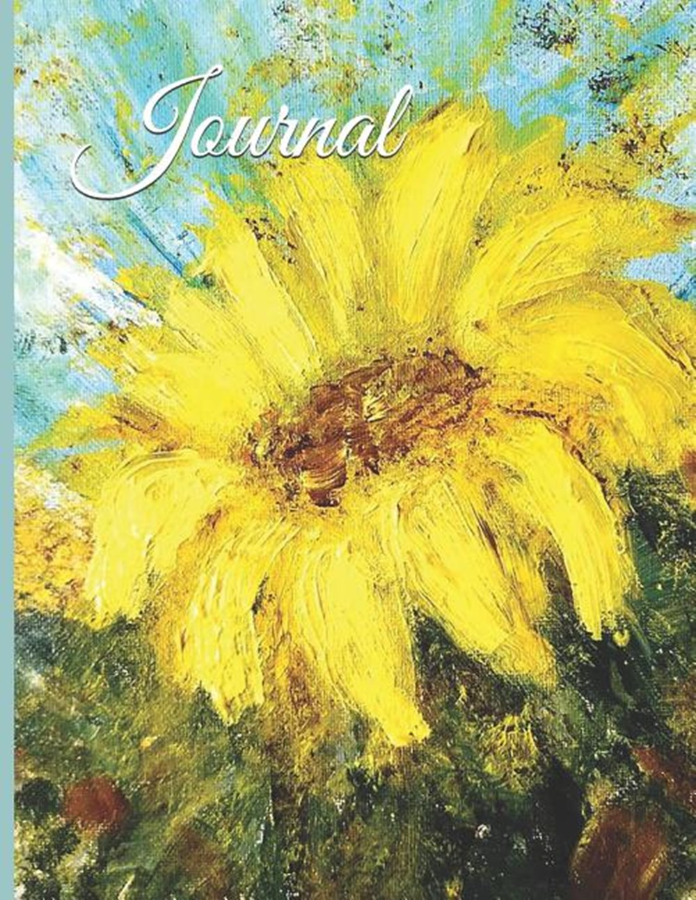 Journal 5' X 8' Lightly Lined, Beautiful Cover, Positive Energy for a Great Day and a Joy-Filled Hea