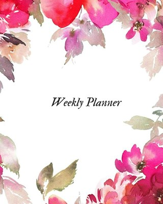 Weekly planner: Daily & Weekly Productivity Planner At-A-Glance Weekly Diary Schedule Undated Diary Organizer to Review Your Day, Set