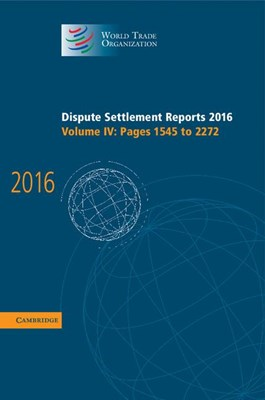 Dispute Settlement Reports 2016: Volume 4, Pages 1545 to 2272