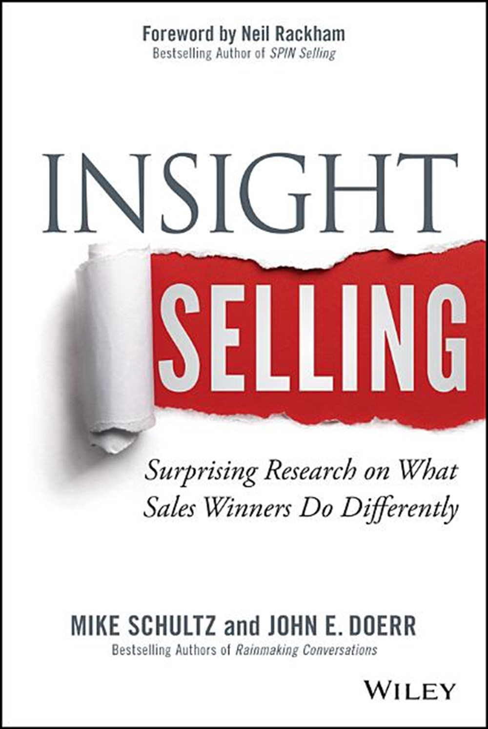 Insight Selling Surprising Research on What Sales Winners Do Differently