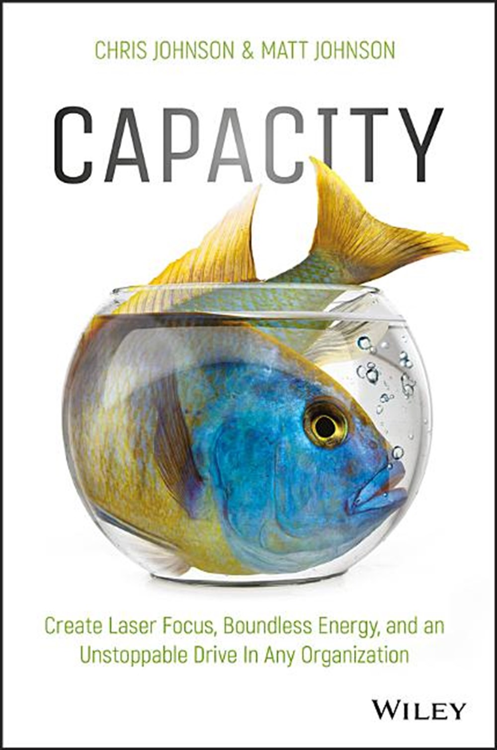 Capacity Create Laser Focus, Boundless Energy, and an Unstoppable Drive in Any Organization