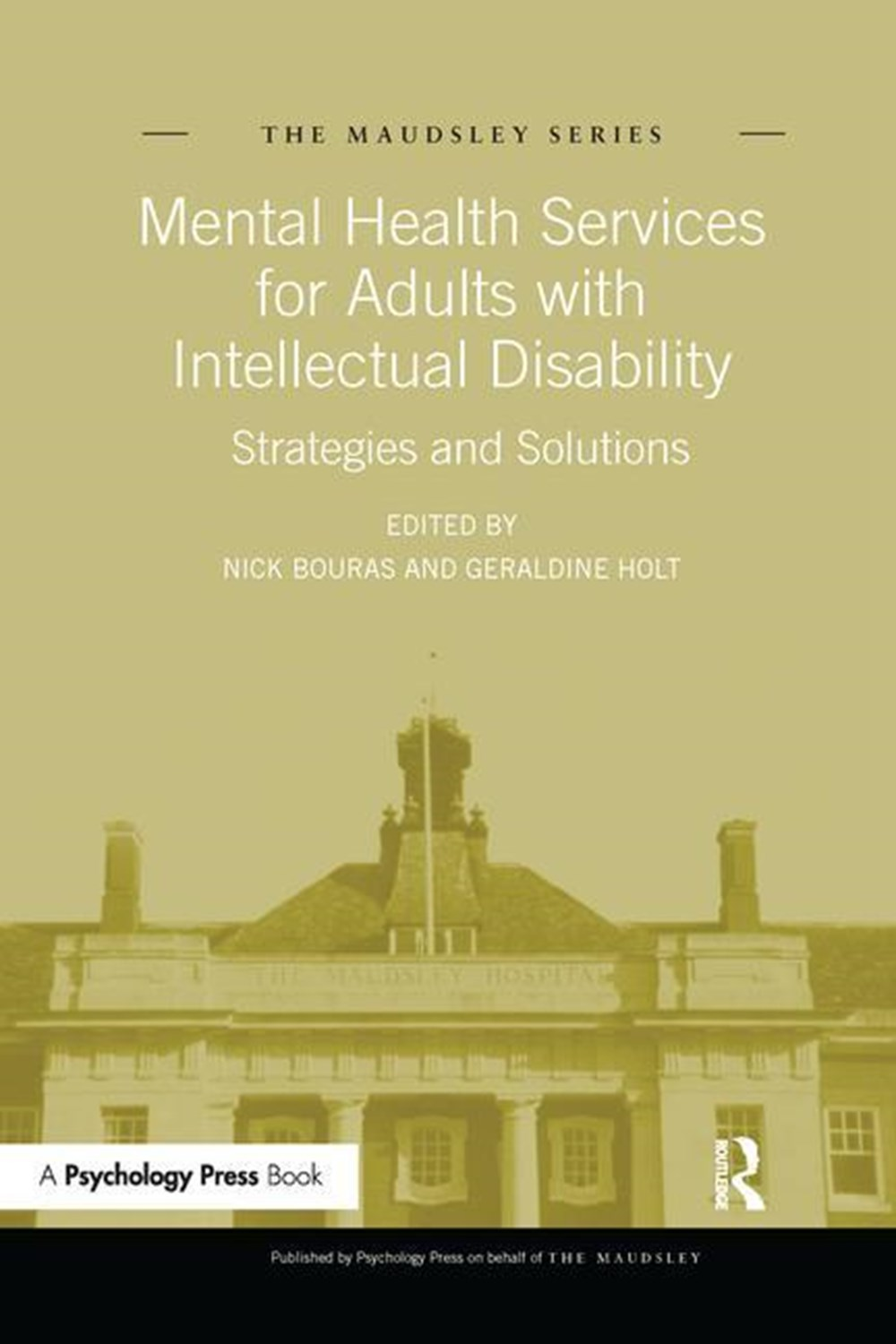 Mental Health Services for Adults with Intellectual Disability Strategies and Solutions