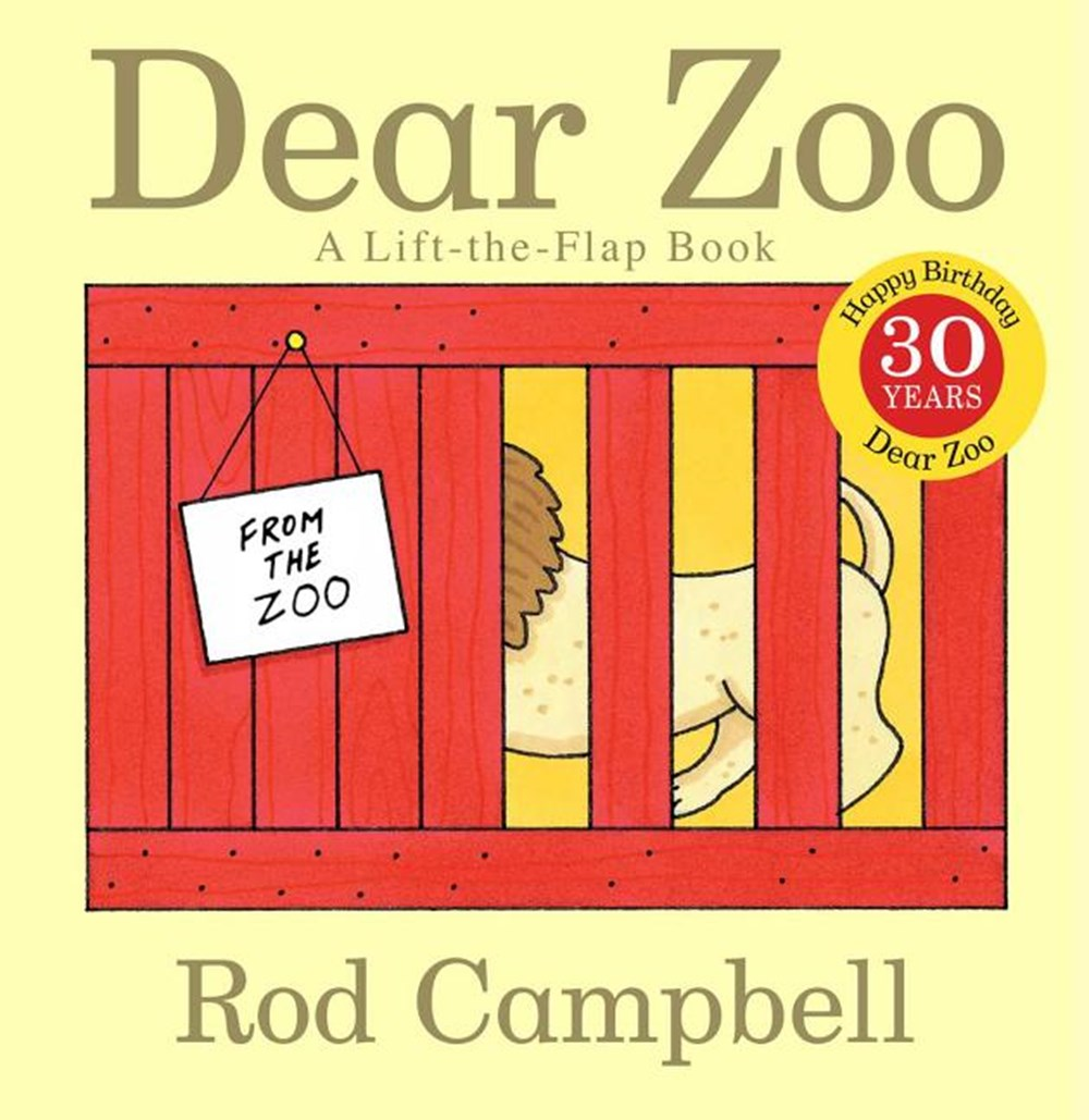Dear Zoo A Lift-The-Flap Book (Anniversary)