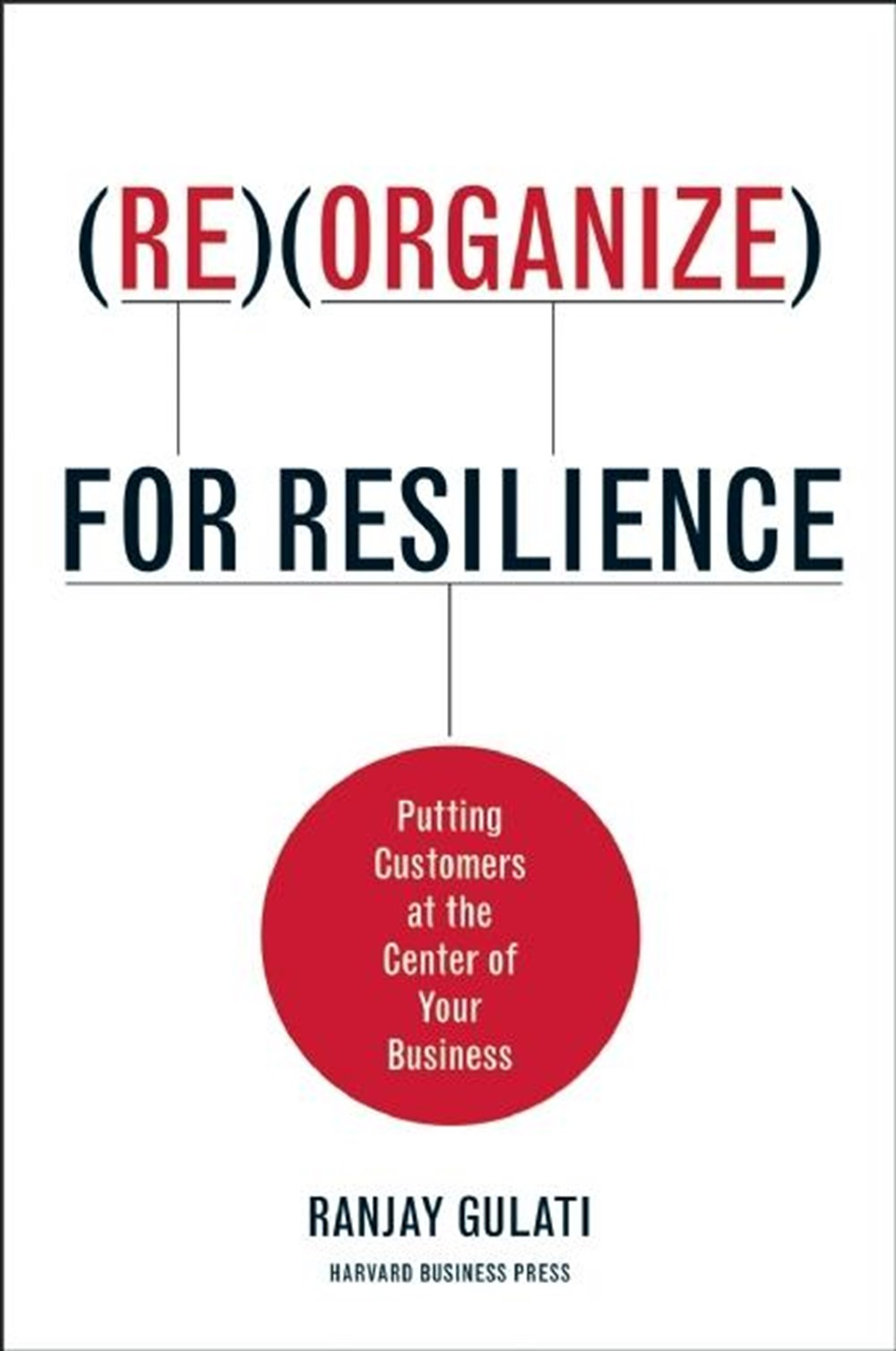 Reorganize for Resilience Putting Customers at the Center of Your Business