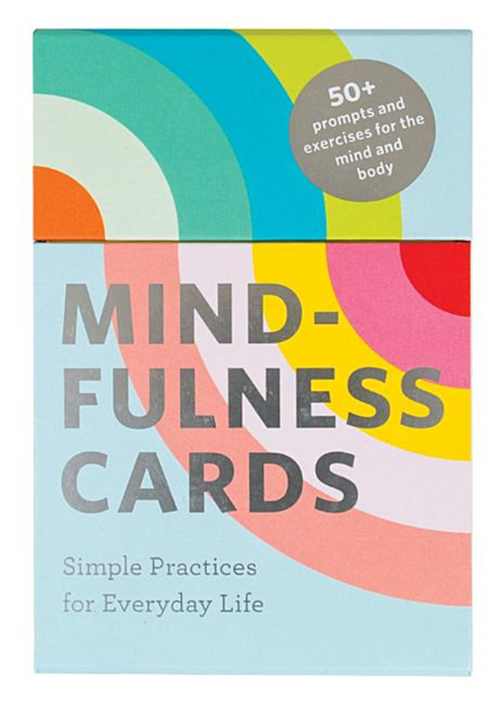 Mindfulness Cards Simple Practices for Everyday Life (Daily Mindfulness, Daily Gratitude, Mindful Me