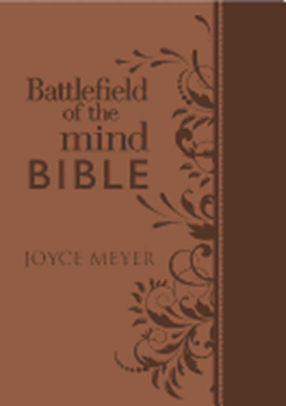 Battlefield of the Mind Bible Renew Your Mind Through the Power of God's Word
