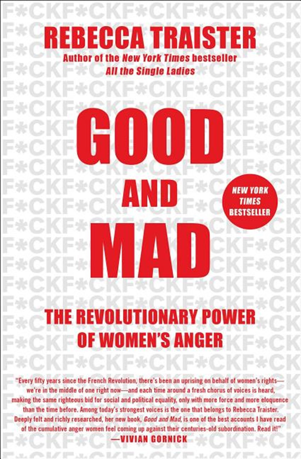 Good and Mad The Revolutionary Power of Women's Anger