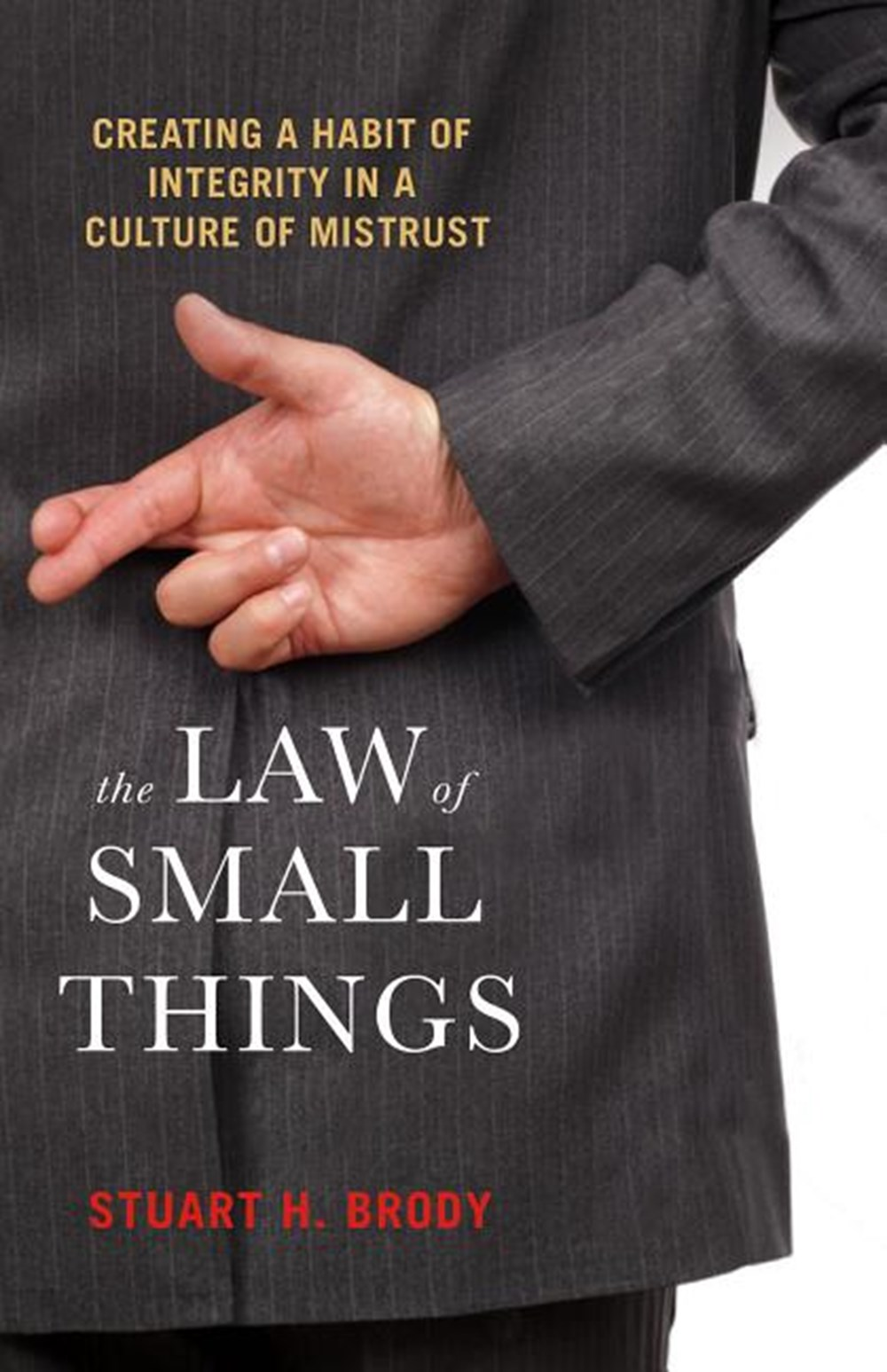 Law of Small Things Creating a Habit of Integrity in a Culture of Mistrust