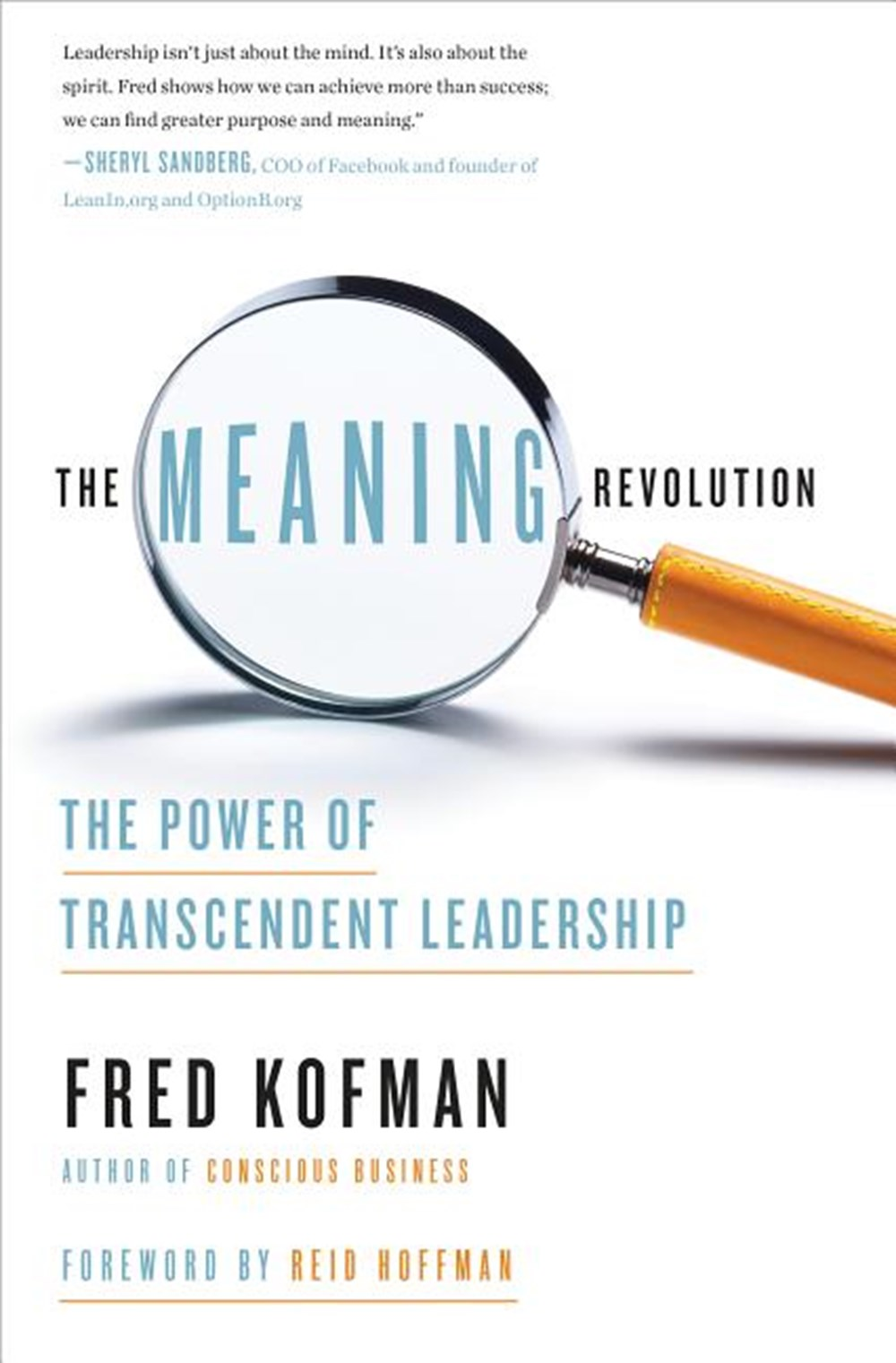 Meaning Revolution The Power of Transcendent Leadership