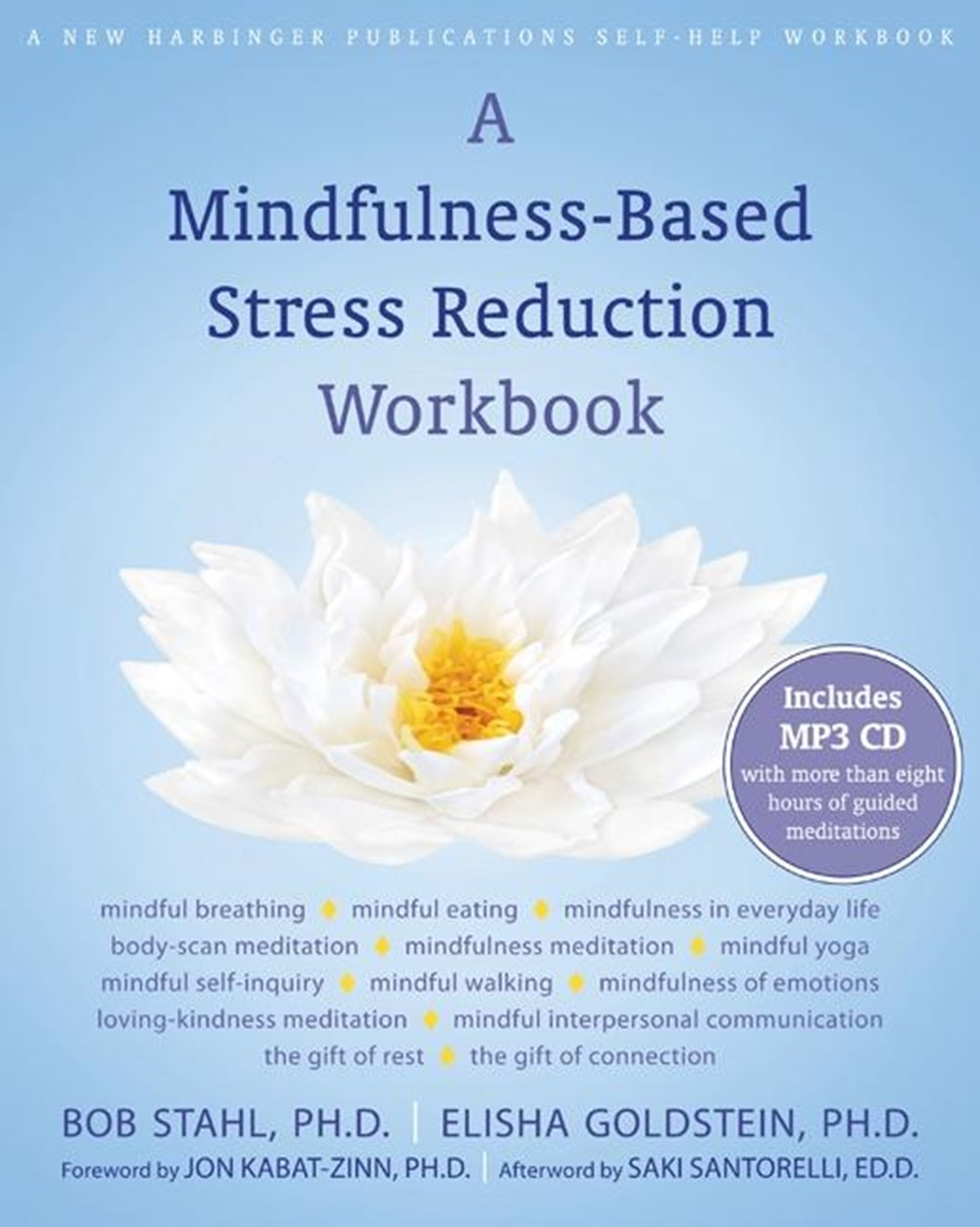 Mindfulness-Based Stress Reduction Workbook [With CD (Audio)]