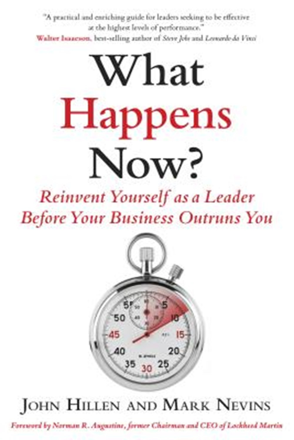 What Happens Now? Reinvent Yourself as a Leader Before Your Business Outruns You