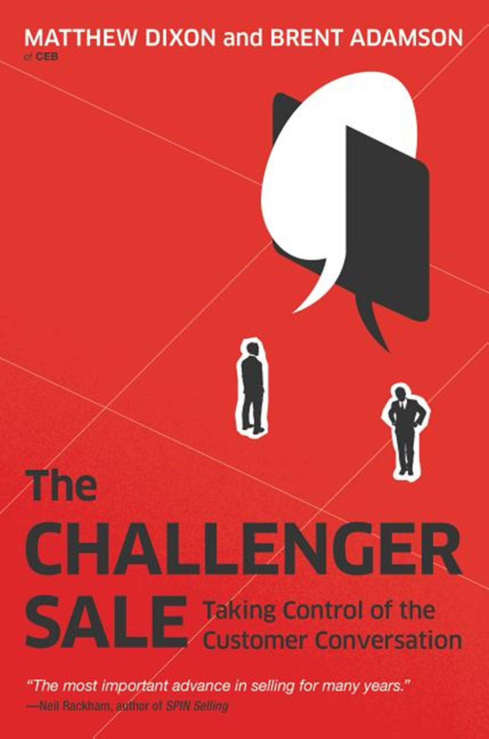 Challenger Sale Taking Control of the Customer Conversation