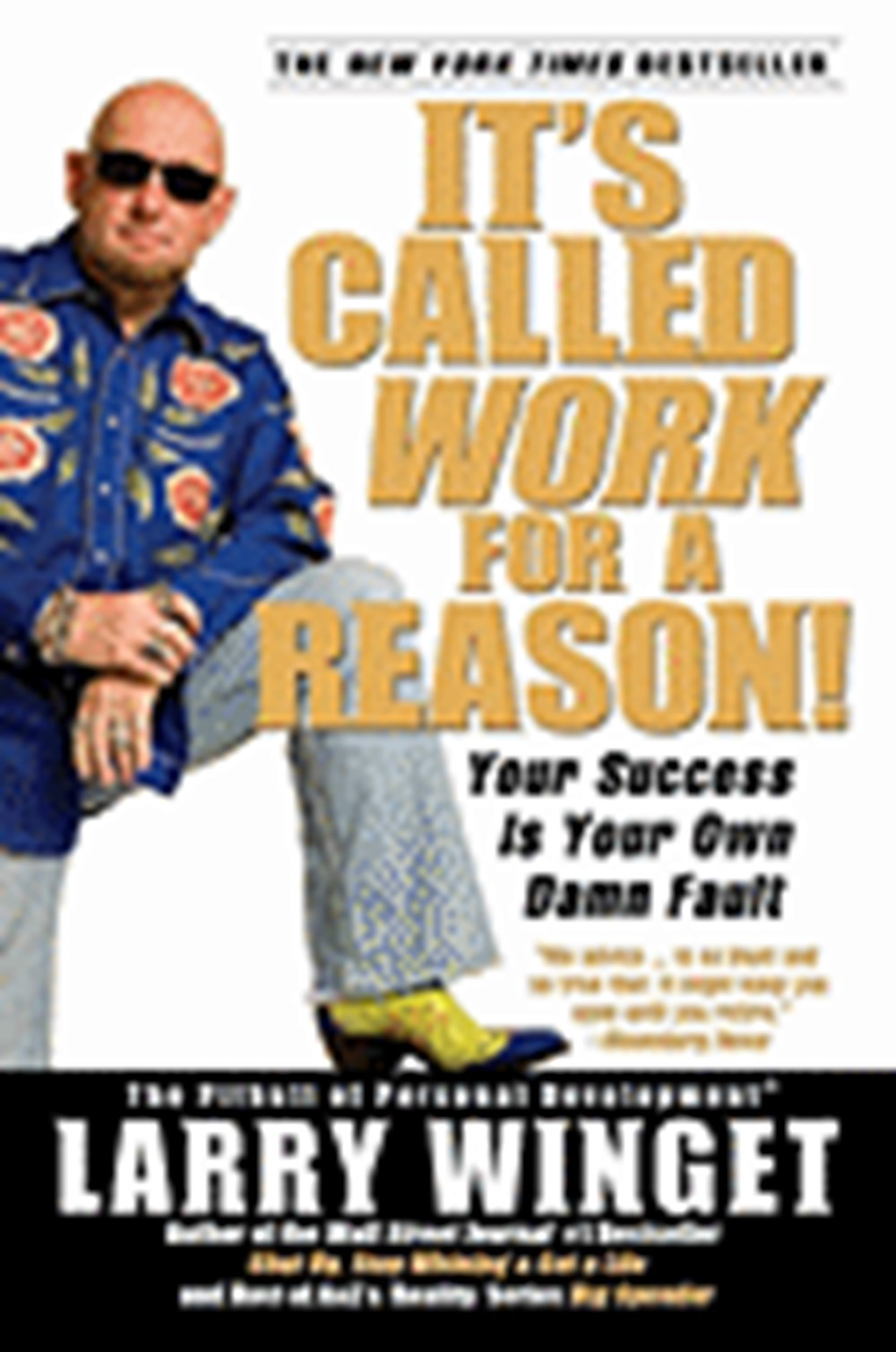 It's Called Work for a Reason! Your Success Is Your Own Damn Fault