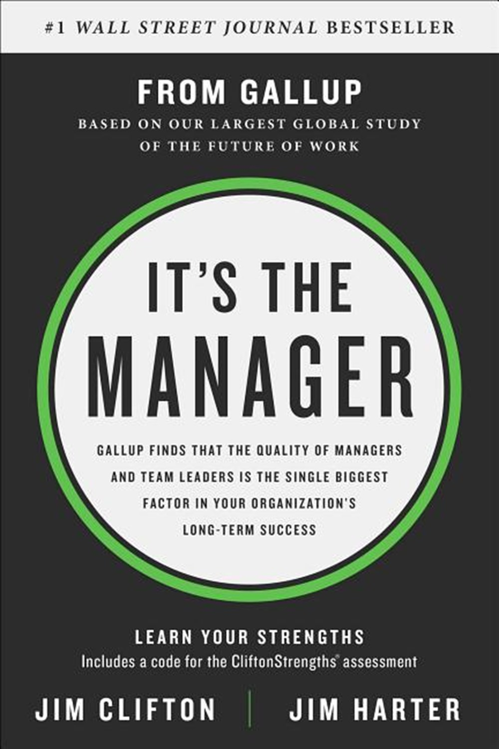 It's the Manager Gallup Finds the Quality of Managers and Team Leaders Is the Single Biggest Factor