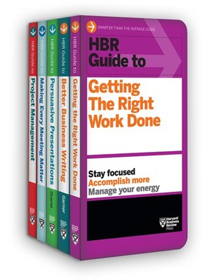 HBR Guides to Being an Effective Manager Collection
