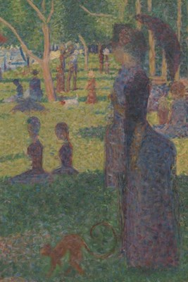 "Study for ""A Sunday on La Grande Jatte"": A Poetose Notebook / Journal / Diary (50 pages/25 sheets)"