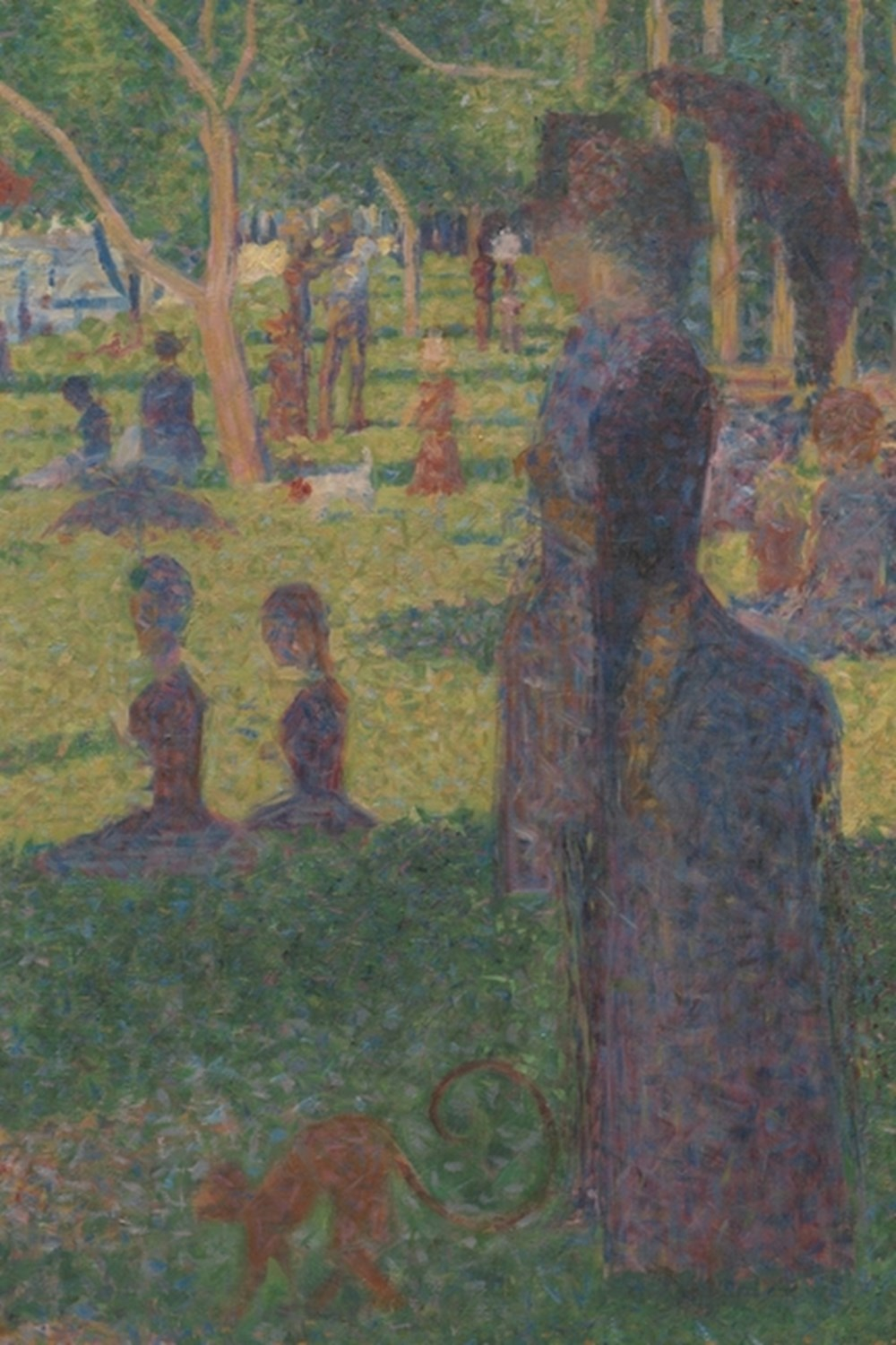 "Study for ""A Sunday on La Grande Jatte"" A Poetose Notebook / Journal / Diary (50 pages/25 sheets)"