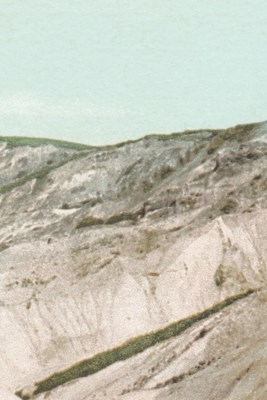 [1898-1931] Colored Cliffs at Gay Head, Martha's Vineyard - A Poetose Notebook / Journal / Diary (50 pages/25 sheets)