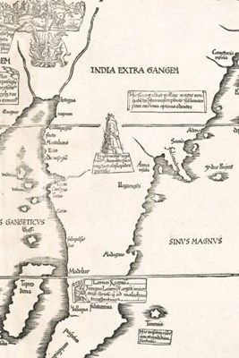 Tab. moderna Indiae / Daksha yajna map of part of India - A Poetose Notebook / Journal / Diary (50 pages/25 sheets)