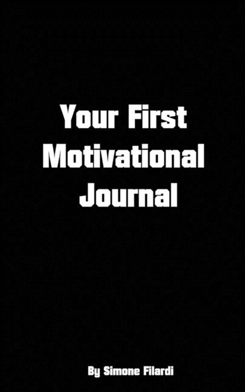 Your first motivational Journal