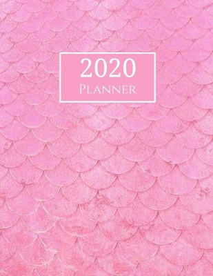 2020 Planner: Pink Roses Floral 2020 Organizer Weekly and Monthly; Weekly ad Monthly 2020 Planner