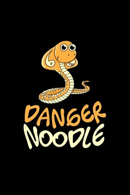 Danger Noodle: Blank Cookbook Journal to Write in Recipes and Notes to Create Your Own Family Favorite Collected Culinary Recipes and