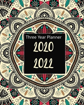 2020-2022 Three Year Planner: Unicorn Sleep, Monthly Schedule Organizer For Large 3 Year Agenda Planner With Inspirational Quotes And Holiday
