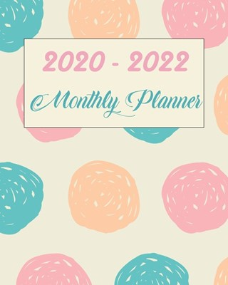 2020-2022 Monthly Planner: Lovely Cat and Bloom, Monthly Schedule Organizer For Large 3 Year Agenda Planner With Inspirational Quotes And Holiday