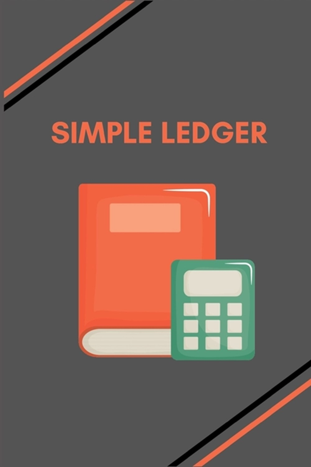 Simple Ledger Simple Balance sheet or Cash Book Accounts Bookkeeping Journal for Small and big Busin