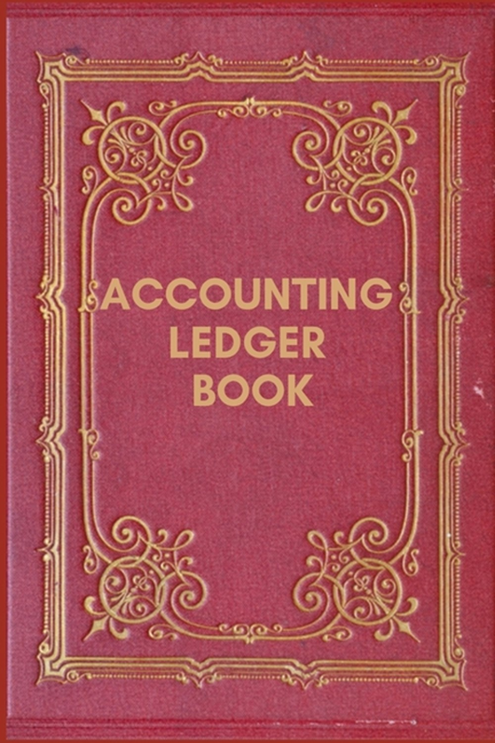 Accounting Ledger Book Simple Balance sheet or Cash Book Accounts Bookkeeping Journal for Small and