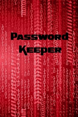 Password Keeper: Password Book / Password Log for keeping track of usernames and passwords - physical password book never forget a pass
