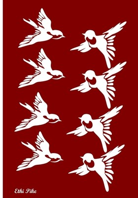 Ethi Pike: Birds' Dance (Red)
