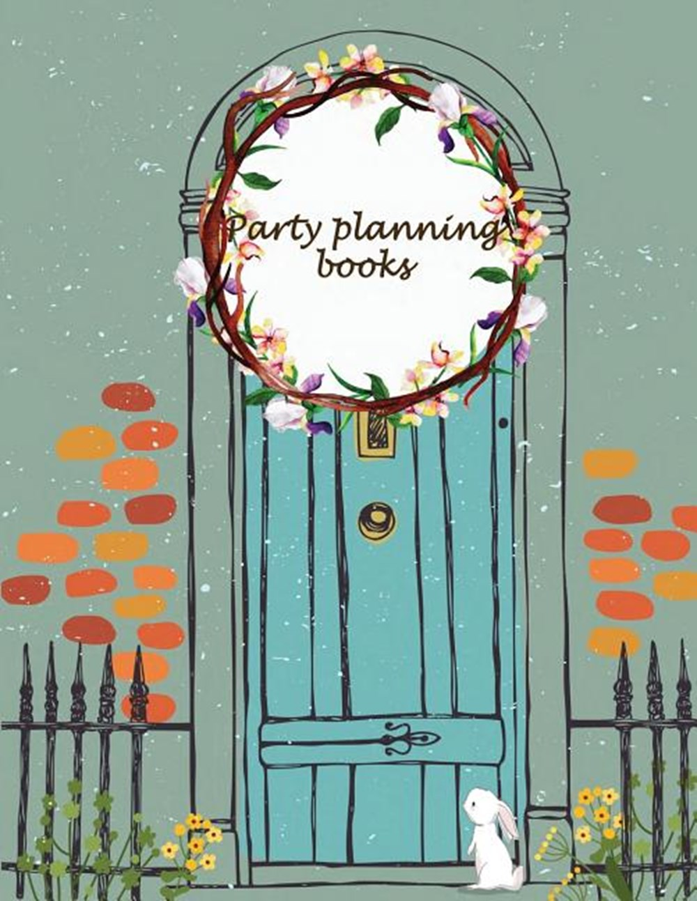 "Party planning books Happy plan, event planner 120 pages Large Print 8.5"" x 11"""