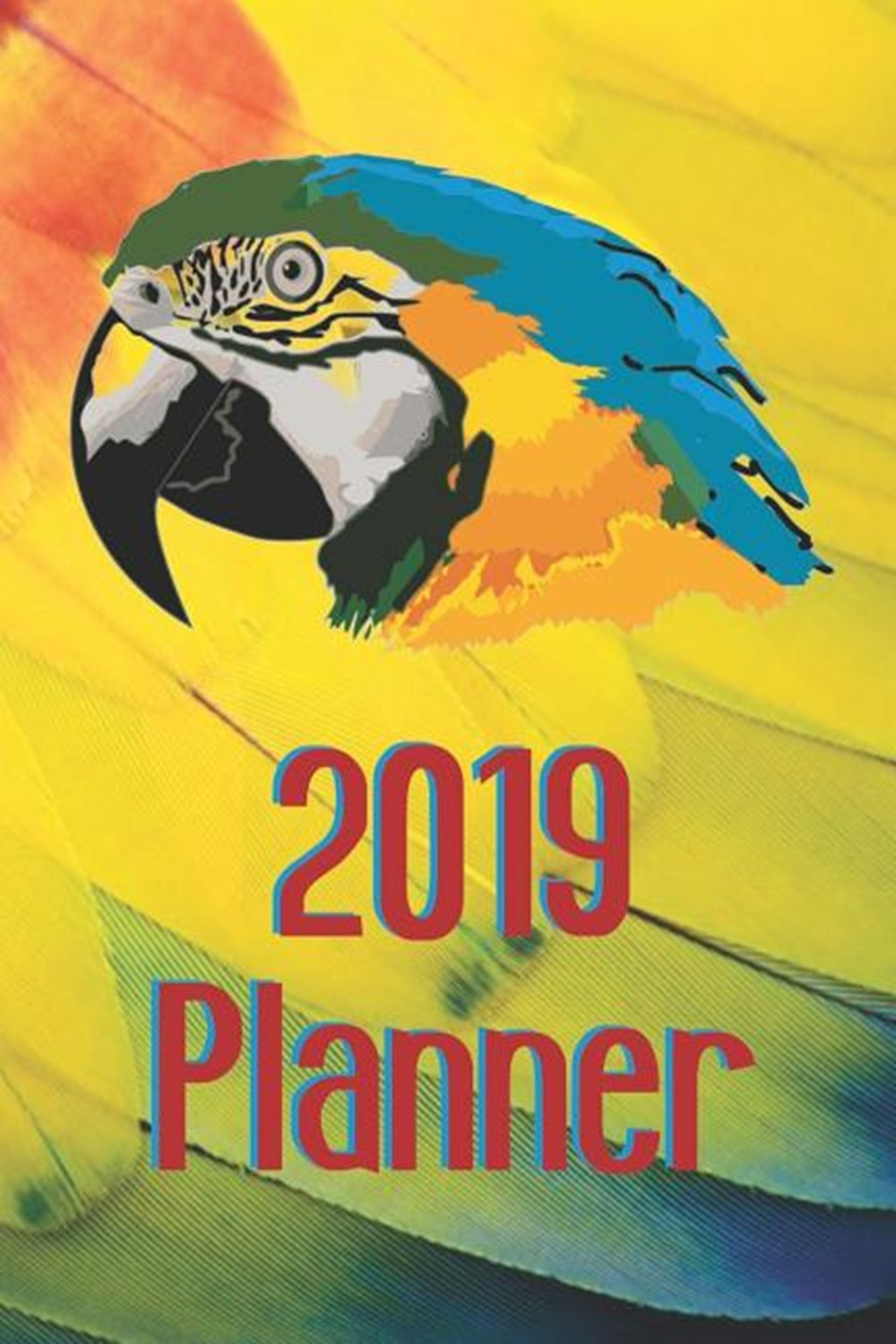 2019 Planner Paperback Book, Daily Weekly Monthly 12 Months Calendar Schedule Organizer Appointments