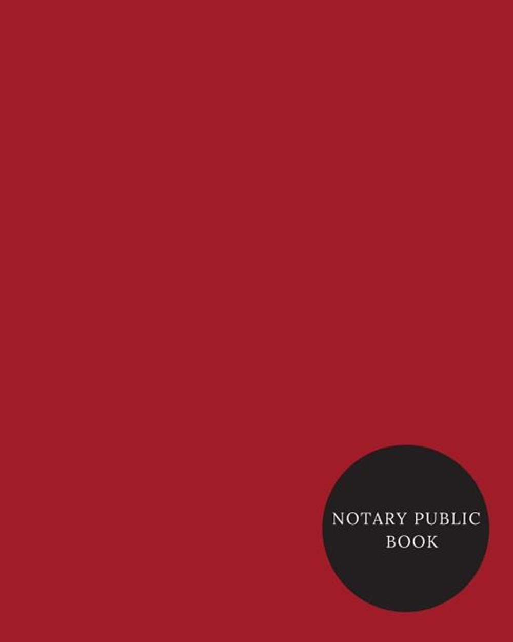 Notary Public Book Official Notary Journal- Public Notary Records Book-Notarial acts records events