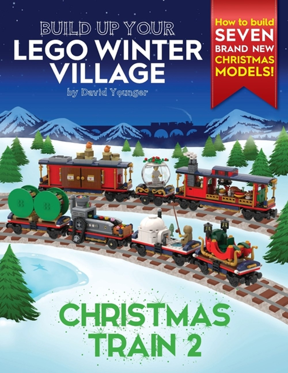 Build Up Your LEGO Winter Village Christmas Train 2