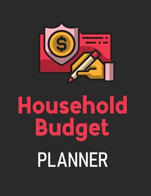 Household Budget Planner: Budget And Financial Planner Organizer Gift - Beginners - Envelope System - Monthly Savings - Upcoming Expenses - Mini