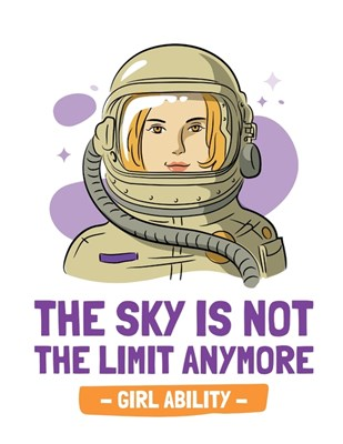 The Sky Is Not The Limit Anymore Girl Ability: Time Management Journal Agenda Daily Goal Setting Weekly Daily Student Academic Planning Daily Planner