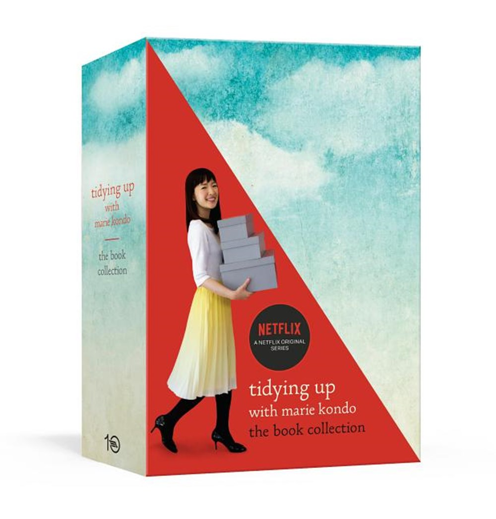 Tidying Up with Marie Kondo The Book Collection: The Life-Changing Magic of Tidying Up and Spark Joy