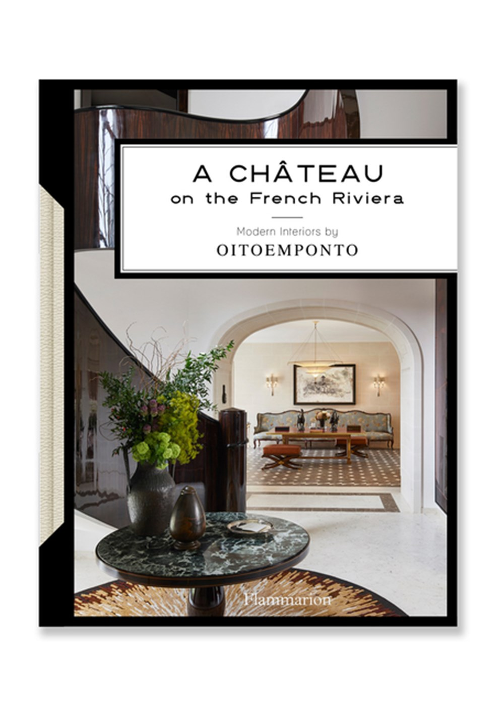 Ch?teau on the French Riviera Modern Interiors by Oitoemponto