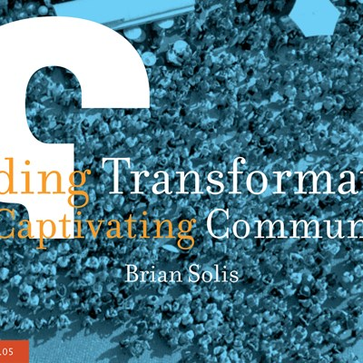 Leading Transformation and Captivating Communities