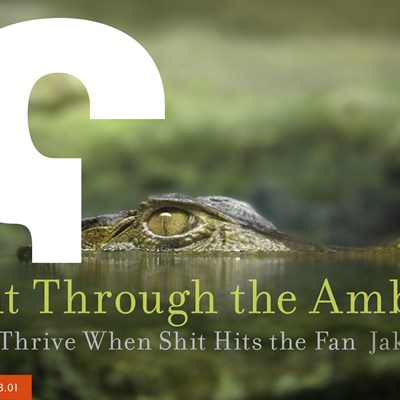 Fight Through the Ambush: How to Thrive When Shit Hits the Fan