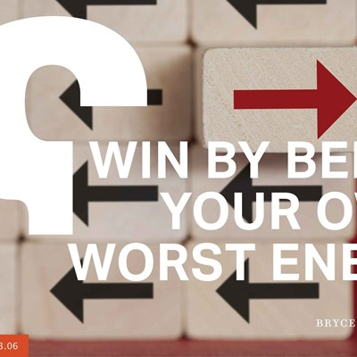 How to Win by Being Your Own Worst Enemy