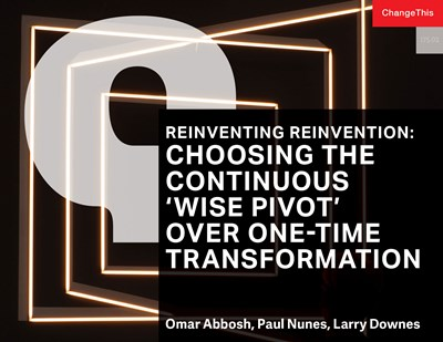 Reinventing Reinvention: Choosing the Continuous 'Wise Pivot' Over One-Time Transformation