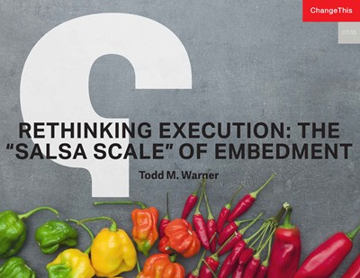 Rethinking Execution: The 'Salsa Scale' of Embedment