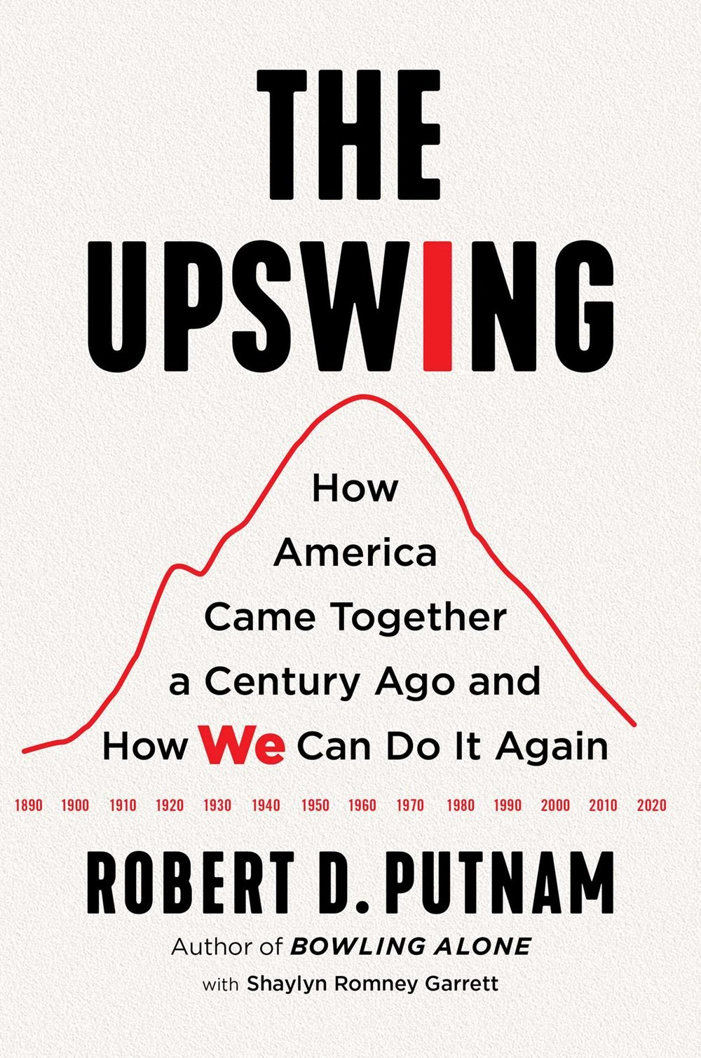 Upswing How America Came Together a Century Ago and How We Can Do It Again