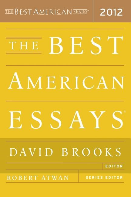 The Best American Essays (2012)